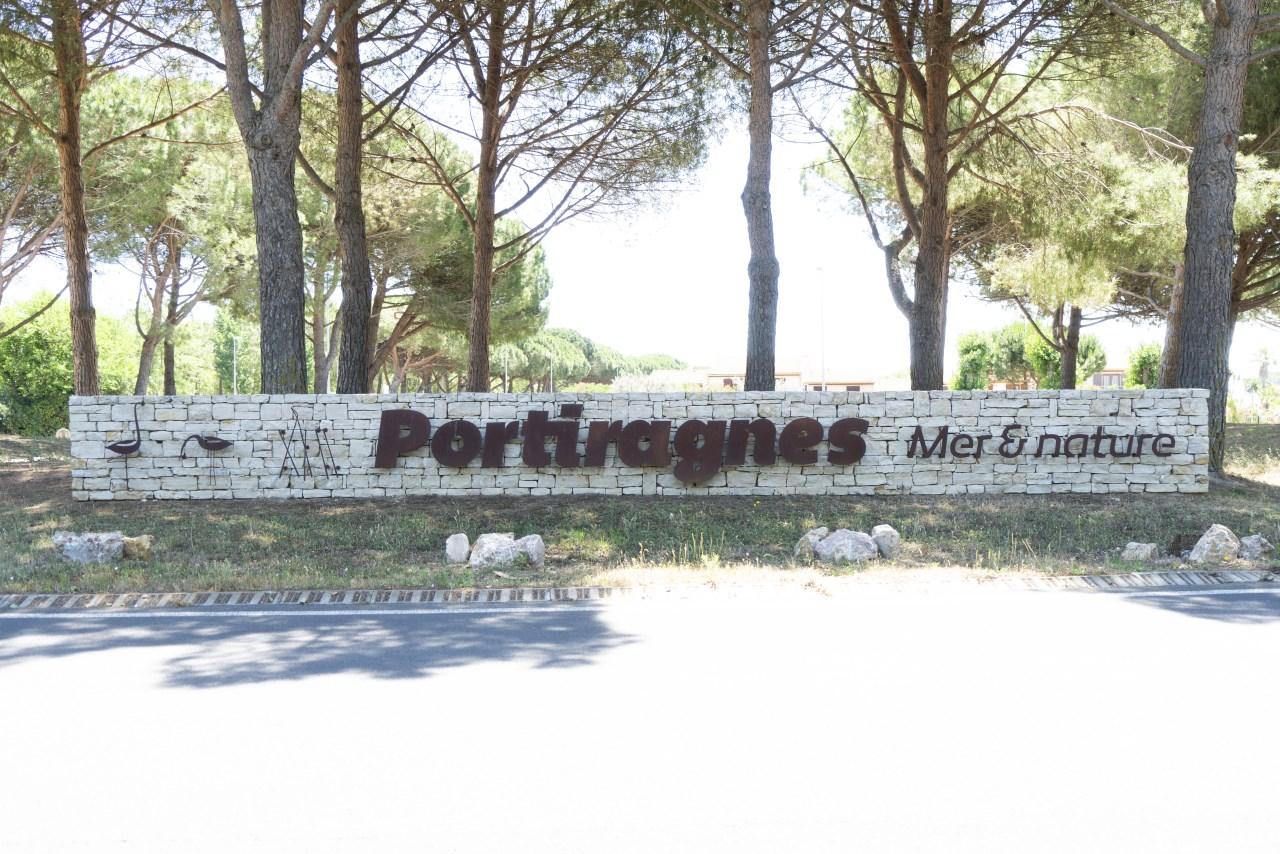 Portiragnes Plage Ferienhaus Ortschschld von Portiragnes